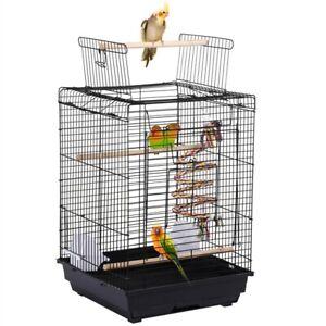 Vogelkäfig Vogelvoliere Wellensittichkäfig Finken Käfig Vogelbauer mit Spielzeug