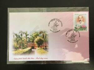 VIETNAM 2010 120TH ANNIVERSARY BIRTH OF PRESIDENT HO CHI MINH FIRST DAY COVER