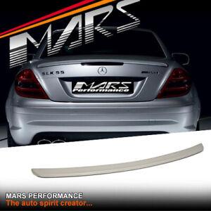 AMG SLK55 Style Rear Trunk Lip Spoiler Wings for Mercedes-Benz R171 SLK Bodykit
