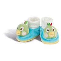 NICI Babyschuhe Fritz der Spatz mit Rassel Babymode Plüsch Plüsch Polyester Grün