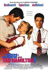 Win a Date with Tad Hamilton! Original D/S Movie Poster 27x40 Kate Bosworth 2004