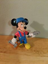 Disney Bullyland Mickey Mouse Handyman Work Tools - Made in Germany PVC Figure