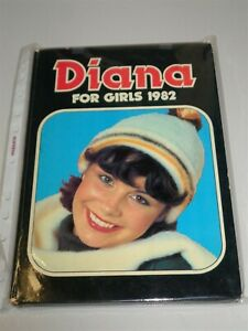 DIANA FOR GIRLS 1982 BRITISH ANNUAL VG+ CLEAN INTERIOR<