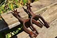 Replica Antique Cowboy Spurs - 19th Century - Old Wild West - Home Decor - Pair