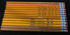 Vintage #2 Pencil Lot Woodbine Empire ADI Ecowriter Berol Eagle Dixon Oriole 13x