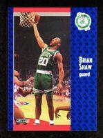 1991-92 Fleer #16 Brian Shaw Boston Celtics Basketball Card NM/MT
