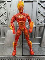 "Marvel Legends Toybiz Fantastic Four Series 2 ll HUMAN TORCH 6"" Action Figure"