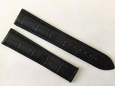 New 20MM Black Soft Padded Strap Band Bracelet For Omega Speed & Seamaster