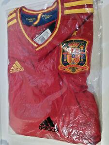 Camiseta de Fútbol Official Adidas España 2012 1964 - 2008 - (Talla L)