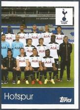 TOPPS 2017 PREMIER LEAGUE- #283-TOTTENHAM HOTSPUR TEAM PHOTO-RIGHT HALF