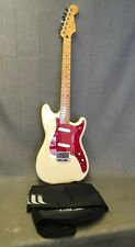 Fender Duo Sonic II olympic White Guitar W/gig Bag
