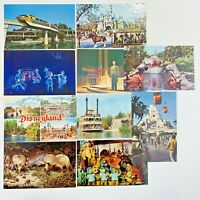 Lot of 10 Vintage RPPC Disneyland 1970s Postcards Steamboat Jamboree Jungle