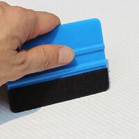 La fibra de carbono de vinilo que envuelve la hoja rasqueta abrigo del coche Apl