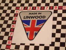 Made in Linwood Chrom Aufkleber Hillman Imp B chamois Sunbeam Stiletto