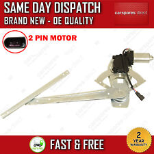 FORD TRANSIT MK6 MK7 00>ON FRONT LEFT PASSENGER SIDE WINDOW REGULATOR WITH MOTOR