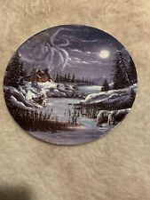 """Collectors Plate """"Two By The Night,Two By The Light"""" Bradford Exchange"""