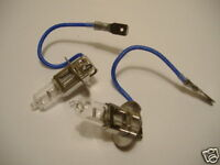 Saab 900 Front Fog light Bulbs - Pair 1979-99 (L3923)