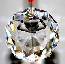 Swarovski Crystal 38mm Clear Dahlia * Ready To Hang Sun Catcher Prism Ornament