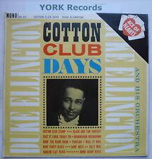 DUKE ELLINGTON - Cotton Club Days - Ex Con LP Record