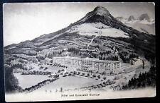 Switzerland~Schweiz~1900's HOTEL & KURANSTALT GURNIGEL