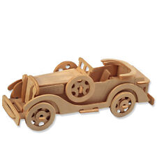 "3-D Wooden Puzzle - Car Model Packard Twelve -Gift Item ""Brand New"""