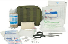Elite First Aid Tactical Trauma Kit #1, Police EMS Military LE, OD Green