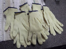6-Heat & Cut Resistant Gloves,  Made with Kevlar Yellow Knit Hand Safety,medium