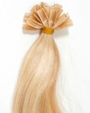 "U-Tip Pre-Bond Extensions Finest European Remy Hair 100 Strand 18"" Color #27/613"