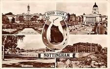Nottingham, Good Luck, Horseshoe, Black Cat, University, Trent Bridge, Castle