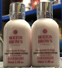 Molton Btow Pomegranate & Ginger Enriching Hand Lotion 2x 100ml Fast Delivery