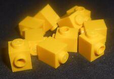 LEGO 1x1 Bricks w/ 1 Knob Yellow---Lot of 10 4624985