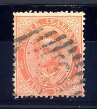 ITALIA - Regno - 1879 - Effigie di Umberto I° - Valore solo in lettere - 2 lire