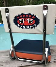 Auburn Tigers College Game Time Tailgate Folding Chair Cushioned Camping Seat
