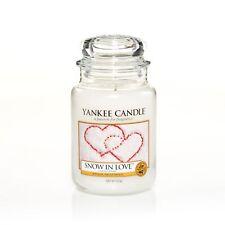 YANKEE CANDLE Große Kerze SNOW IN LOVE 623 g Duftkerze