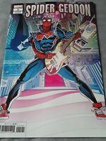 Spider-Geddon #1 Spider-Punk Variant (2018) NM (Marvel Comics) comic book