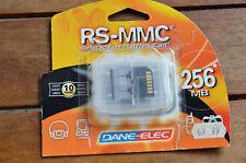Dane-Elec Memory Card RS-MMC 256MB New Blister Going Price 69.95 euro Mikaducati