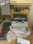 NOS+Vintage+Olivetti+Lettera+35l+Typewriter+With+Box+And+Carry+Case+Never+Used