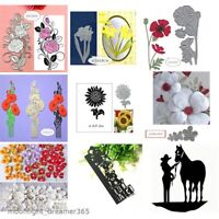 Flowers Frame Design Metal Cutting Dies DIY Craft Scrapbooking Album Die Cuts