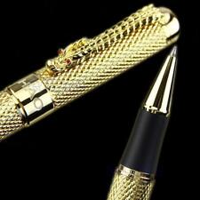 Dragon Clip Roller Ball Pen China 1200 Complete Golden Parker Luxury Business