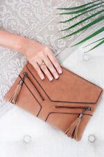 Boho Damen-Clutch-Stil mit Reißverschluss