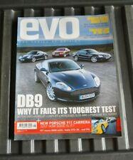 EVO #70 Aug 2004 DB8 v Bentley GT, Merc SLK, Morgan Aero, ImprezaSTi, Volvo S60