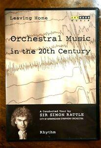 Sir Simon Rattle - Leaving Home, Rhythm, Vol. 2  - DVD, As New