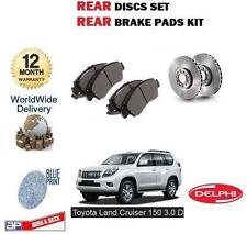 für Toyota Landcruiser 150 3.0DT D4D 2009- > Bremsscheiben SET HINTEN +