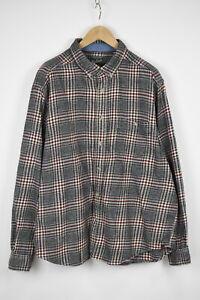 WOOLRICH BUCKWHEAT HEATHER Men's XX LARGE Checked Flannel Shirt 34443_GS