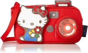 LeSportsac Hello Kitty Camera, Mini Red Camera Short Strap & Crossbody Bag NWT