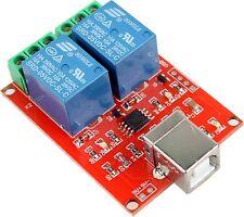 Programmable 2 canaux usb relais smart home C++ lib et DLL Effection robotic