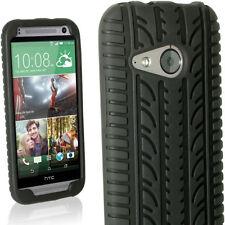 Custodie preformate/Copertine nero per HTC One mini