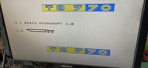 Cartouche Basic 1 thomson TO7