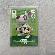 ASTRID #276 Animal Crossing Amiibo Card Authentic Mint Nintendo Series 3