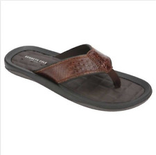 152b487d708f Kenneth Cole New York Mens Leather Flip Flop